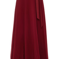 Silk Chiffon Pleated Skirt | Moda Operandi