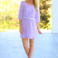 To Catch A Husband Tunic-Lavender