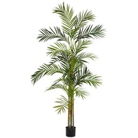nearly natural 6-ft. Silk Areca Palm Tree (Green)
