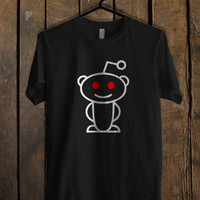Reddit Alien White T Shirt Mens T Shirt and Womens T Shirt *