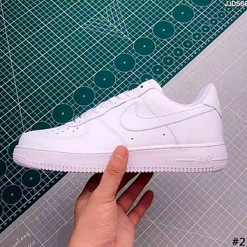 NIKE AIR FORCE 2019 new high quality men's and women's casual wild white shoes #2