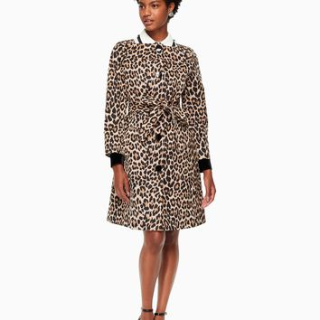 leopard-print coat | Kate Spade New York