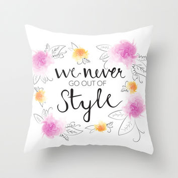 Style Throw Pillow by Whitney Werner