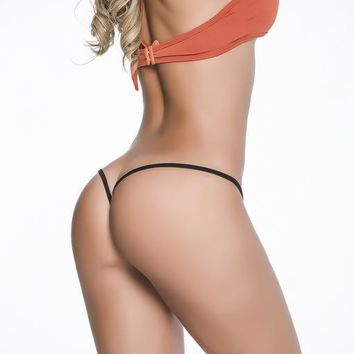 Mapale Clip Y Back Thong