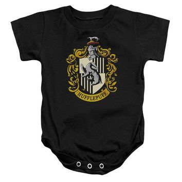 Harry Potter - Hufflepuff Crest Infant Snapsuit