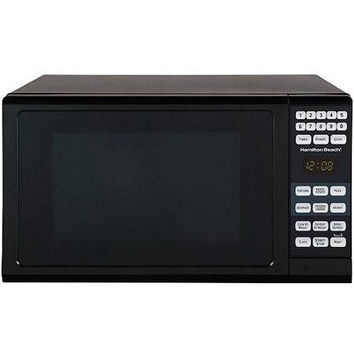 Hamilton Beach 0.7-cu ft Black Microwave Oven