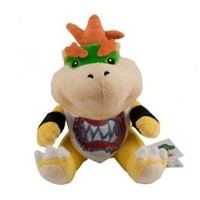 """New 8"""" Cooper Jr Baby Bowser Official Super Mario Plush Toy High Quality Modern Design Beautiful"""
