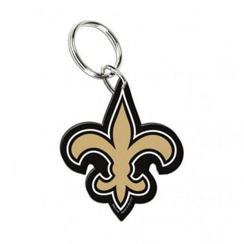 ONETOW NFL New Orleans Saints Wincraft Premium Acrylic Key Ring