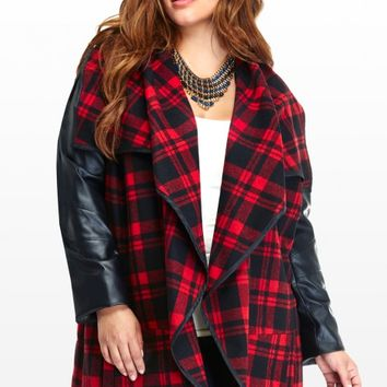 Plus Size Newbury Plaid Jacket | Fashion To Figure