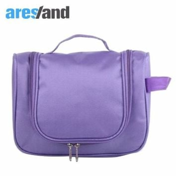 Aresland 2017 New Waterproof Cosmetic Bag Travel Organizer Hanging Storage Bag Wash Bag Large Space Muti Function Travel Kit