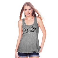 7 ate 9 Apparel Women's Bridesmaid Tank Top