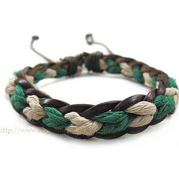 Tide accessories - rope weaving bracelets - color matching bracelet bracelet - women and men