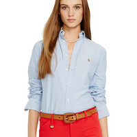 Polo Ralph Lauren Custom Fit Washed Oxford Shirt