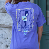 The Fair Lady Boutique Tee {Violet}