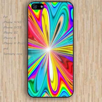 iPhone 5s 6 case flower power watercolor colorful phone case iphone case,ipod case,samsung galaxy case available plastic rubber case waterproof B700