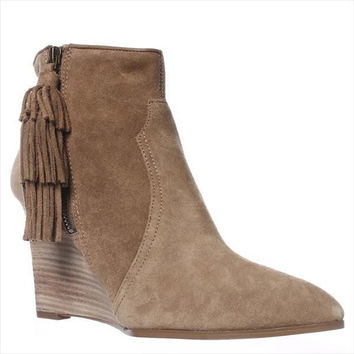 Nine West Retrolook Western Boots, Taupe, 9.5 US