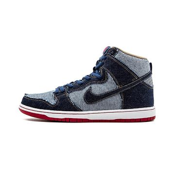 Original New Arrival Authentic Nike SB DUNK HIGH TRD QS Men's Hard-Wearing Skateboarding Shoes Sports Sneakers