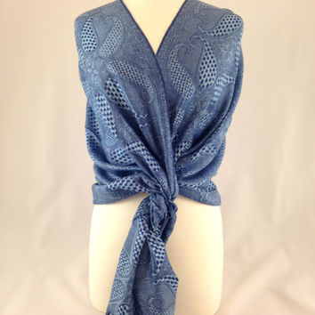Something Blue Pashmina