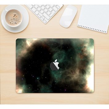 "The Dark Green Glowing Universe Skin Kit for the 12"" Apple MacBook"