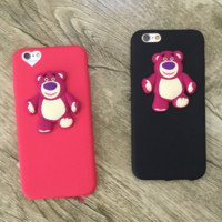 Lovely bear Silicone TPU Case Cover for Apple iPhone 5s 5 6 Plus 6 -05011