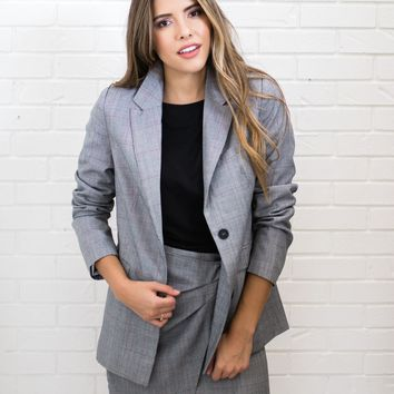 Brinkley Plaid Blazer