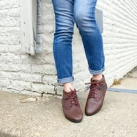 vintage brown lace up boots 8.5 / leather ankle boots women / lace up ankle boots / brown ankle boots 8.5 / lace up booties