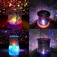 Cosmos Star Master Projector LED Night Light Lamp Sky Starry Novelty Kids Gift (Color: Black) = 1930060292