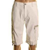 INC Mens Linen Contrast Trim Casual Shorts
