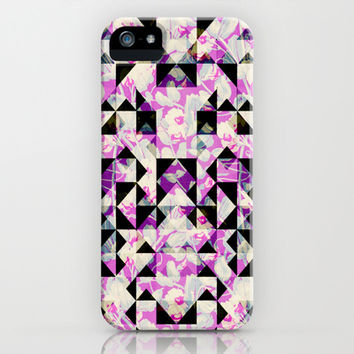 GEO FLORAL iPhone & iPod Case by Nika