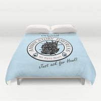 Howl's Moving Castle 2 Duvet Cover by Emily Brand
