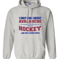 Colorado Avalanche Hockey Sweater NHL Avalanche Hockey Mens Birthday Gift Christmas Gift Ultimate Hockey Fan Custom Hoodie Team Pride BD-213