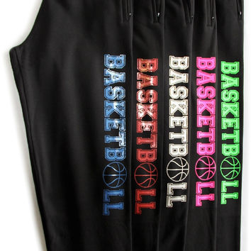 Basketball Black Sweatpant with pocket