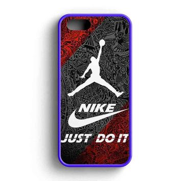 Jordan Air Nike Just Do It Cool Fan Art iPhone 5 Case iPhone 5s Case iPhone 5c Case