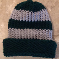Harry Potter Inspired Slytherin Baby Infant Knitted Winter Hat