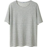 T by Alexander Wang Striped Jersey Tee