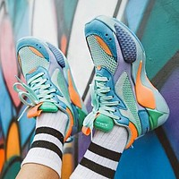 PUMA RS-X Reinvention Fashionable Women Men Casual Couple Sport Running Shoes Sneakers