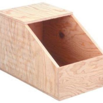 ONETOW Ware Wood Rabbit Nesting Box Large
