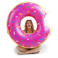 Bigmouth Giant Pink Donut Pool Float
