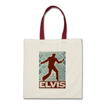Million Dollar Quartet Elvis Type Tote Bag