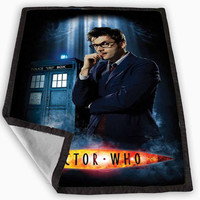Doctor Who David Tennant Blanket for Kids Blanket, Fleece Blanket Cute and Awesome Blanket for your bedding, Blanket fleece **