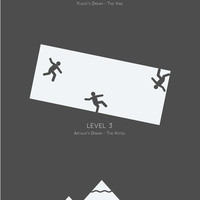 Inception - Minimalist Levels Art Print by Bluebird Design | Society6