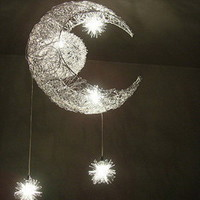 Moon Star Featured Pendant Light with 5 Lights - US$ 114.99