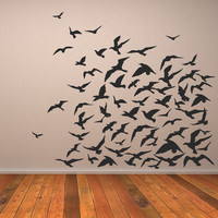 Flock Of Birds Animals Wall Art Decal Wall Stickers Transfers