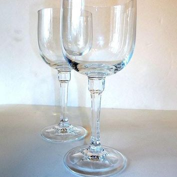 Tall Cut Crystal Stemware