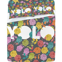 DENY Designs Home Accessories | Bianca Green Yolo Sheet Set