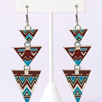 Phoenix Triangle Earrings From NASTY GAL The Best Of