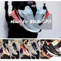 【Ready Stock】Nike Originals Air Max 270 Cushion Sports Running Shoes Sneakers