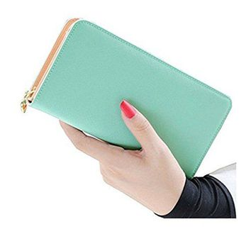 Wallets for WomenKQueenStar Womens Wallet Ladies Purse Clutch Wallet Card Holder Organizer Large Capacity With Wrist Strap