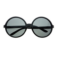 Retro Fashion Large Oversized Round Womens Sunglasses O06