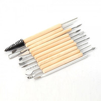 11 piece Clay/Pottery Sculpture Tool Set